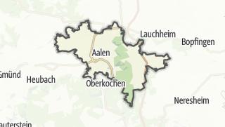 地图 / Aalen