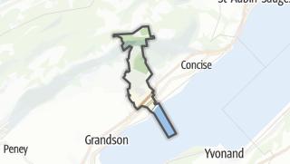Карта / Bonvillars