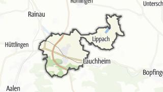 Mapa / Westhausen