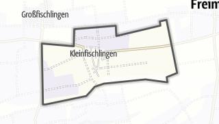 Mapa / Kleinfischlingen