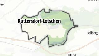 Karte / Ruttersdorf-Lotschen
