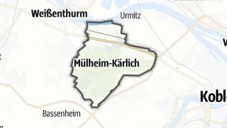 Cartina / Mülheim-Kärlich