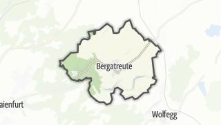 Cartina / Bergatreute