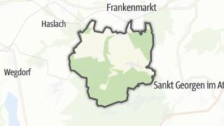 Mapa / Weißenkirchen im Attergau