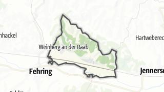 מפה / Hohenbrugg-Weinberg