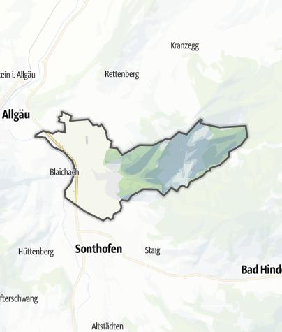 Map / Burgberg im Allgaeu