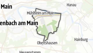 Karte / Mühlheim am Main