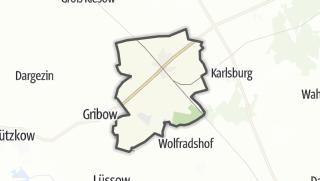 Cartina / Züssow