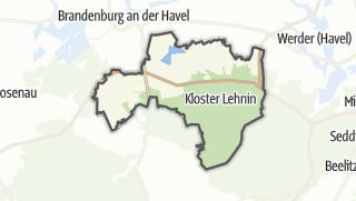地图 / Kloster Lehnin