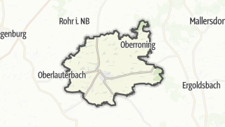 Carte / Rottenburg an der Laaber