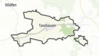 Mapa / Tannhausen