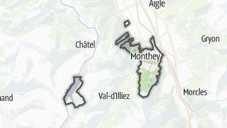 Térkép / Monthey