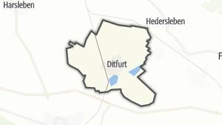 Mapa / Ditfurt