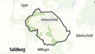 Mapa / Liebenscheid