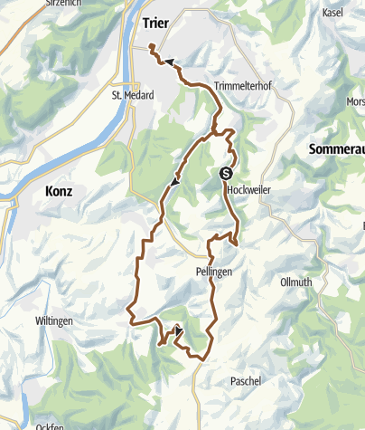 Karte / Windrädertour alternativ