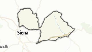 מפה / Castelnuovo Berardenga