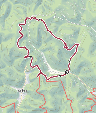 Karte / Rund ums Modenbachtal