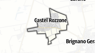 Hartă / Castel Rozzone