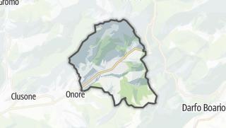 Hartă / Castione della Presolana