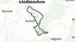 Karte / Oberhausen an der Nahe