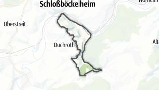 Map / Oberhausen an der Nahe