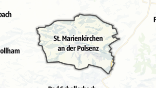 Carte / Sankt Marienkirchen an der Polsenz