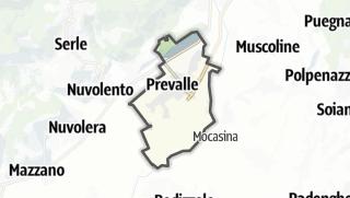 מפה / Prevalle