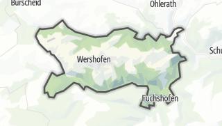 地图 / Wershofen