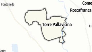 Hartă / Torre Pallavicina