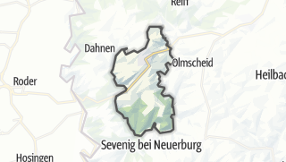 Karte / Daleiden
