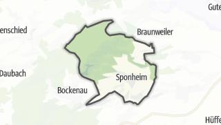 Karte / Sponheim