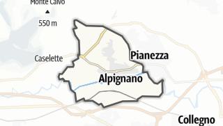 מפה / Alpignano