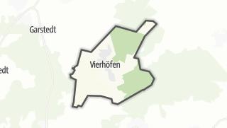 מפה / Vierhöfen