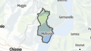 Hartă / Moltrasio