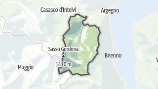 Hartă / Schignano