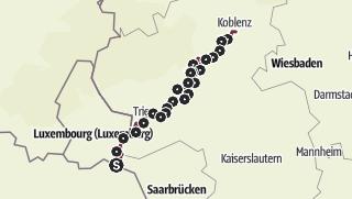Mosel Karte Mit Allen Orten.Moselsteig Gesamtstrecke Dein Weg Mehr Zu Erleben