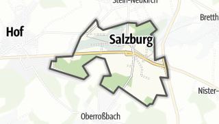 Cartina / Salisburgo