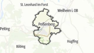 Karte / Peißenberg