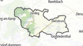 Cartina / Hohenwarth-Mühlbach am Manhartsberg
