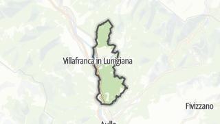 地图 / Villafranca in Lunigiana