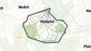 Karte / Mühlpfad