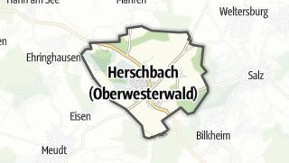 Cartina / Herschbach (Oberwesterwald)