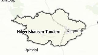 Mapa / Hilgertshausen-Tandern