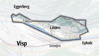 מפה / Lalden