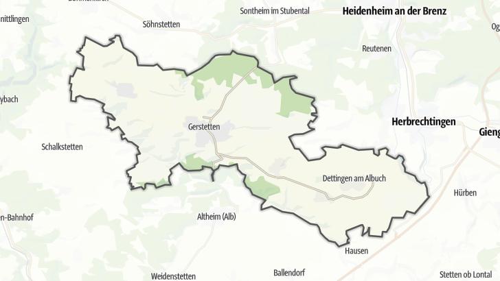 Map / Gerstetten