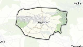 地图 / Siegelsbach