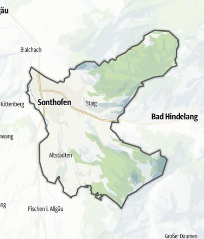 Karte / Sonthofen