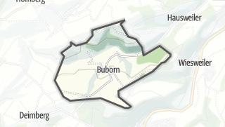 Karte / Buborn
