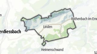 Hartă / Linden