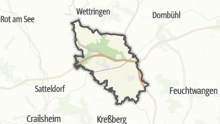 Map / Schnelldorf